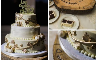 Rachael & Steve's Fairy Tale Autumn Wedding Cake