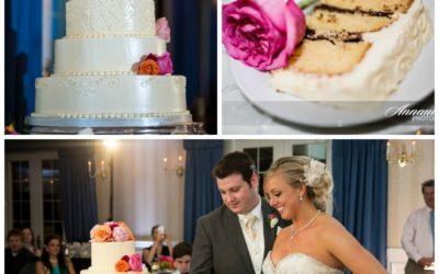 Sarah and Blair's 4-tier Wedding Cake