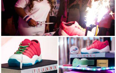 Tianna's Super Sweet 16 Cake