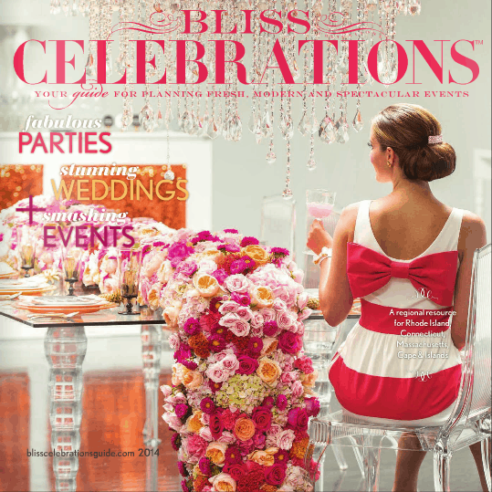JCakes Featured in Bliss Celebrations Magazine