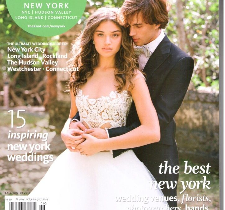 JCakes Featured in The Knot Magazine