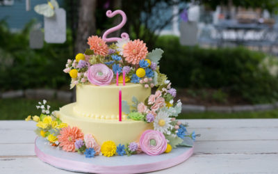 JCakes makes a cake for David Tutera's Daughter