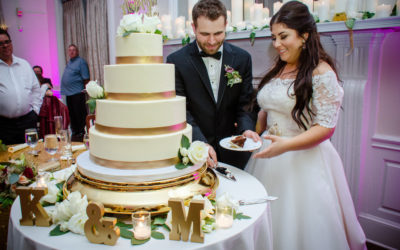 Gold Elegance for Kristina and Michael