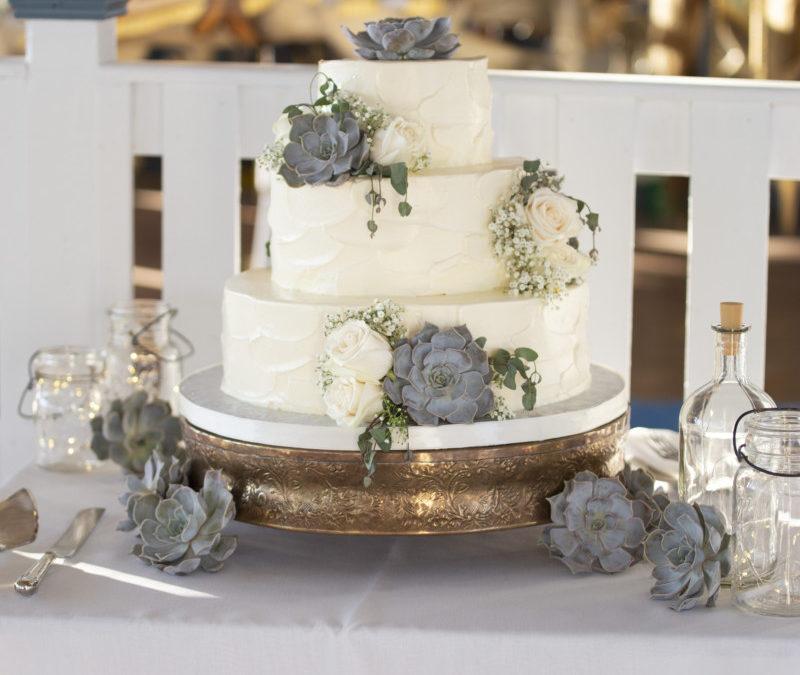 Amanda & Michael's Wedding Cake