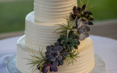 Rob & Noel's Wedding Cake