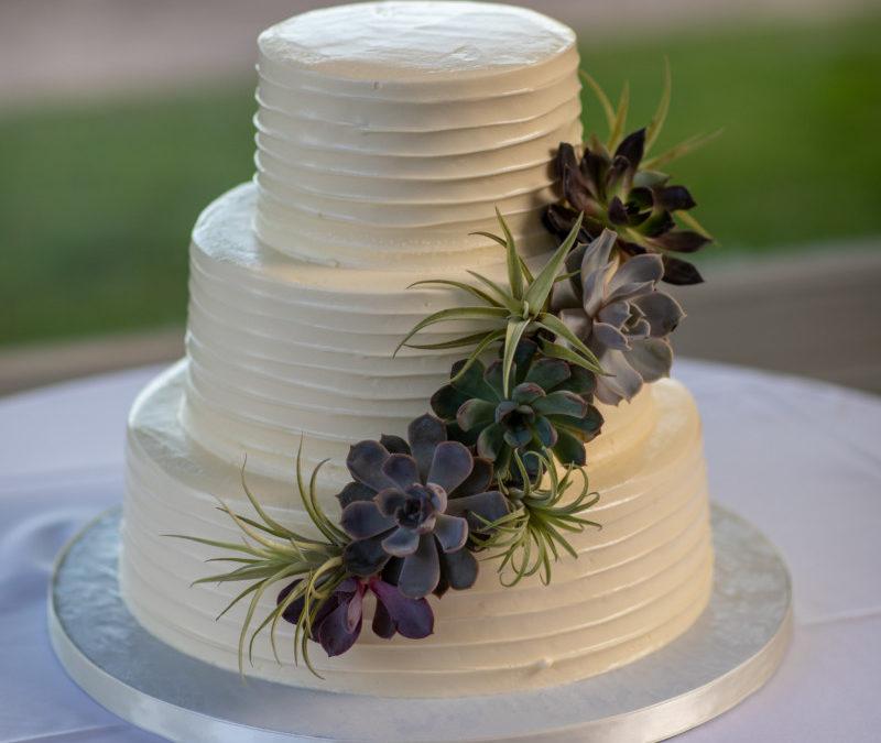 Rob & Noel's Wedding Cake