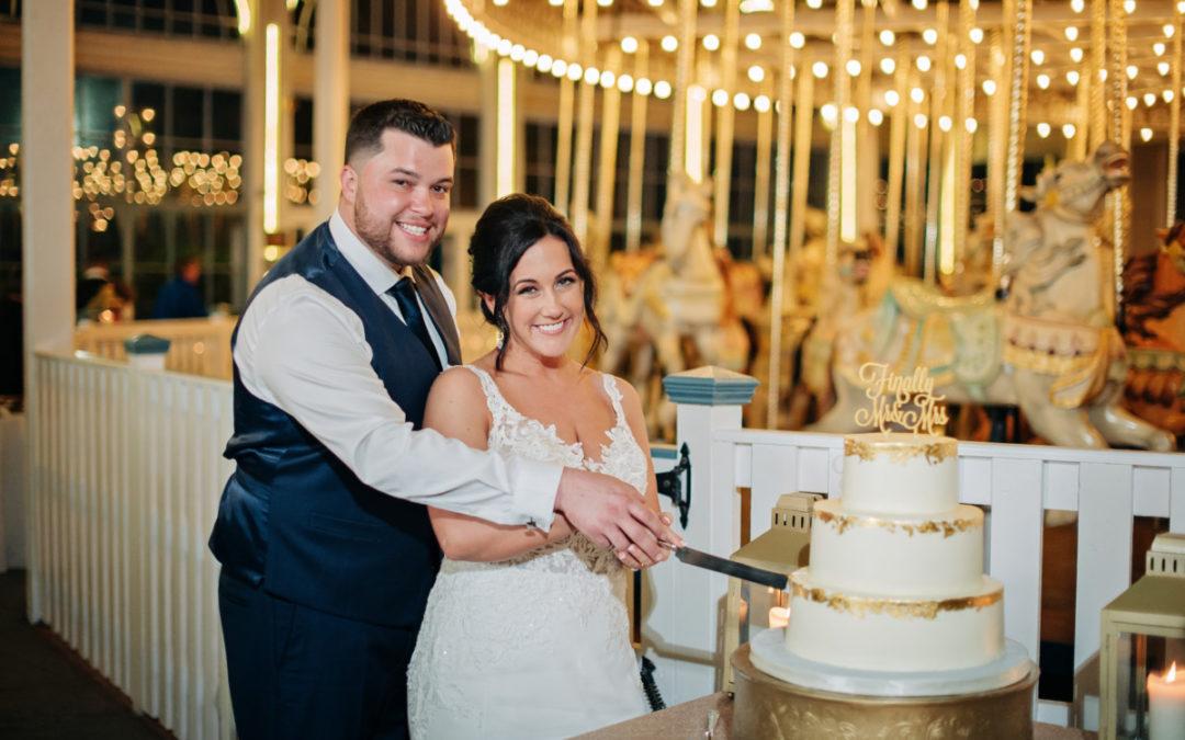 Chelsea & Paul's Wedding Cake