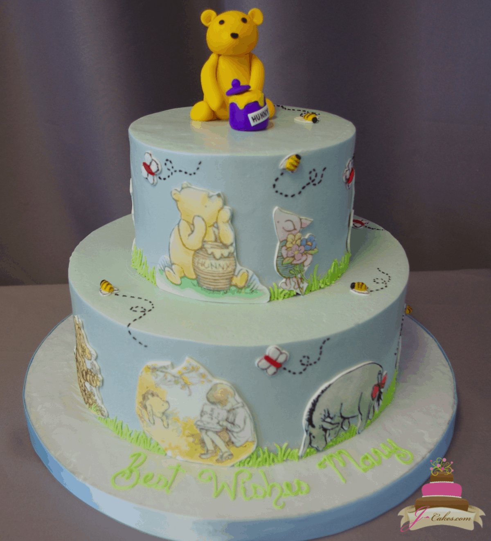 (236) Winnie the Pooh Cake