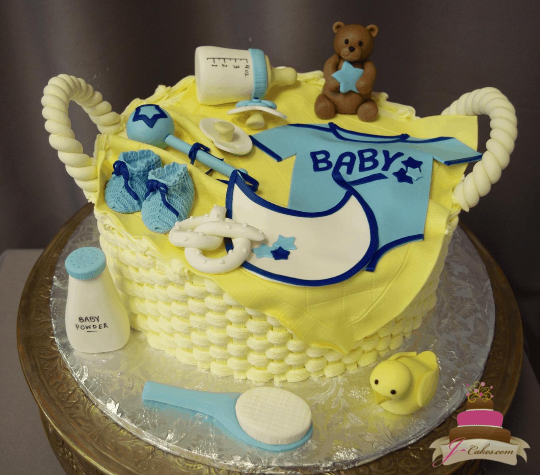(235) Baby Basket Cake