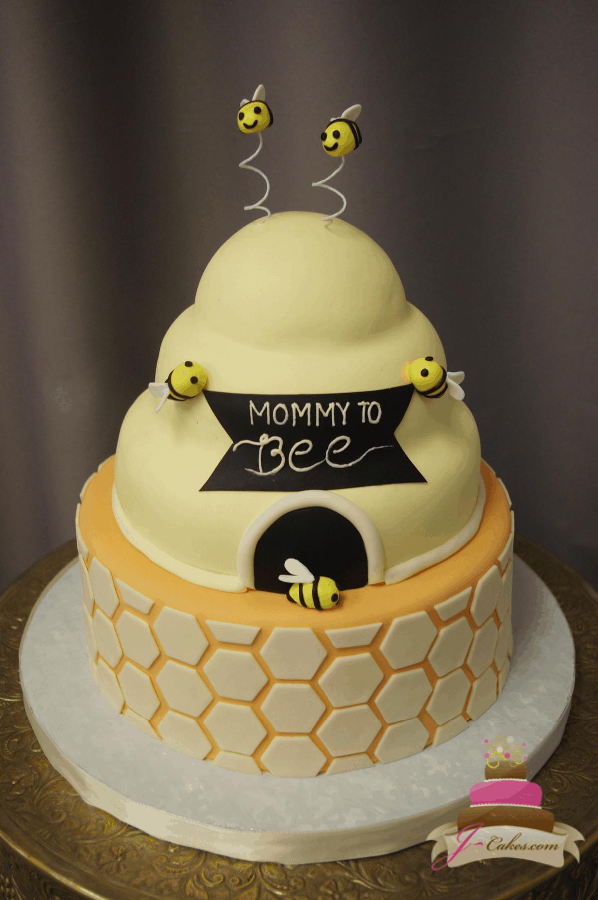(237) Bee Hive Cake