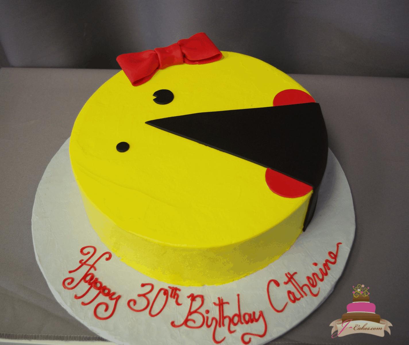 (201) Ms. Pacman Cake