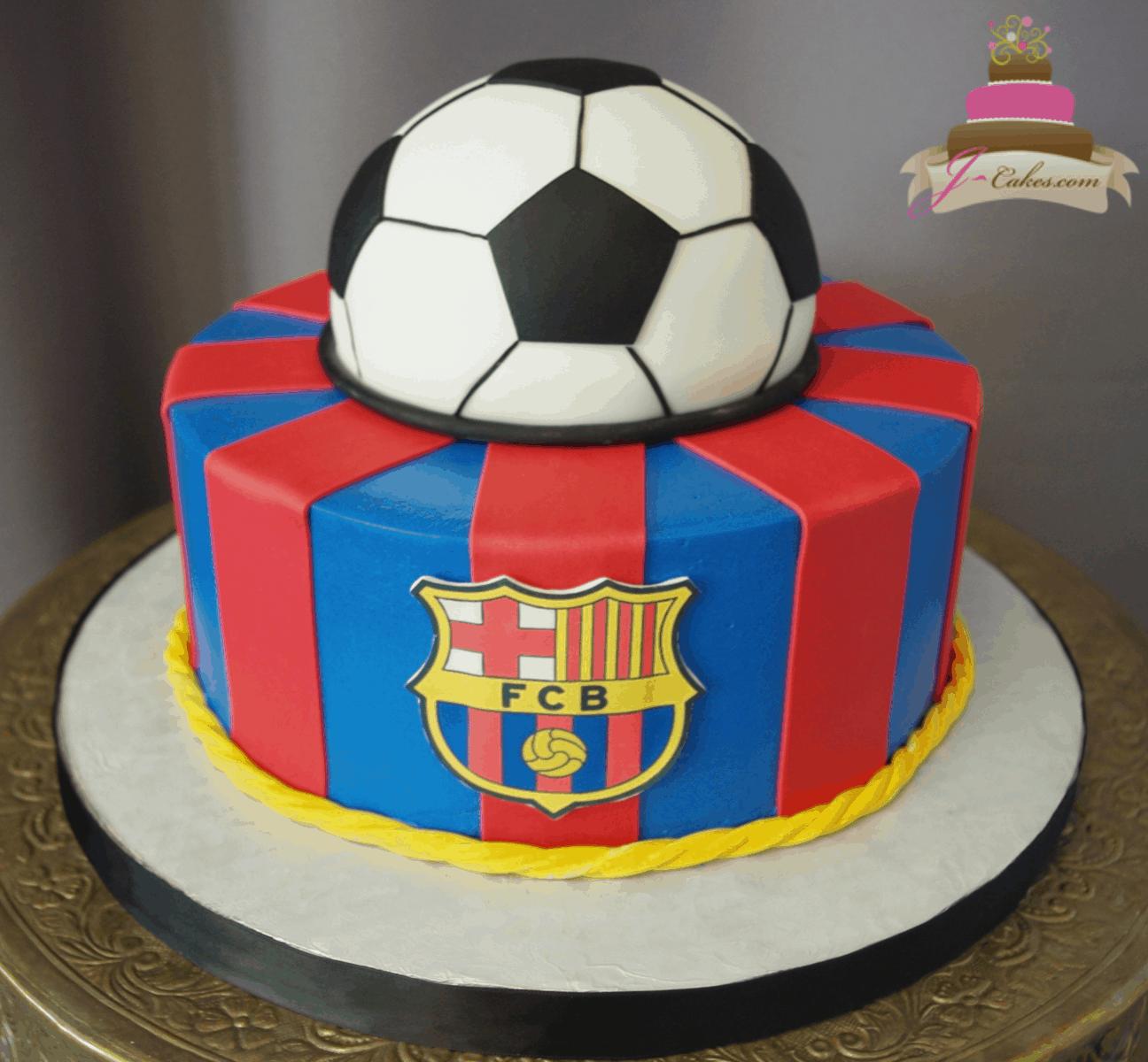 (202) Soccer Cake