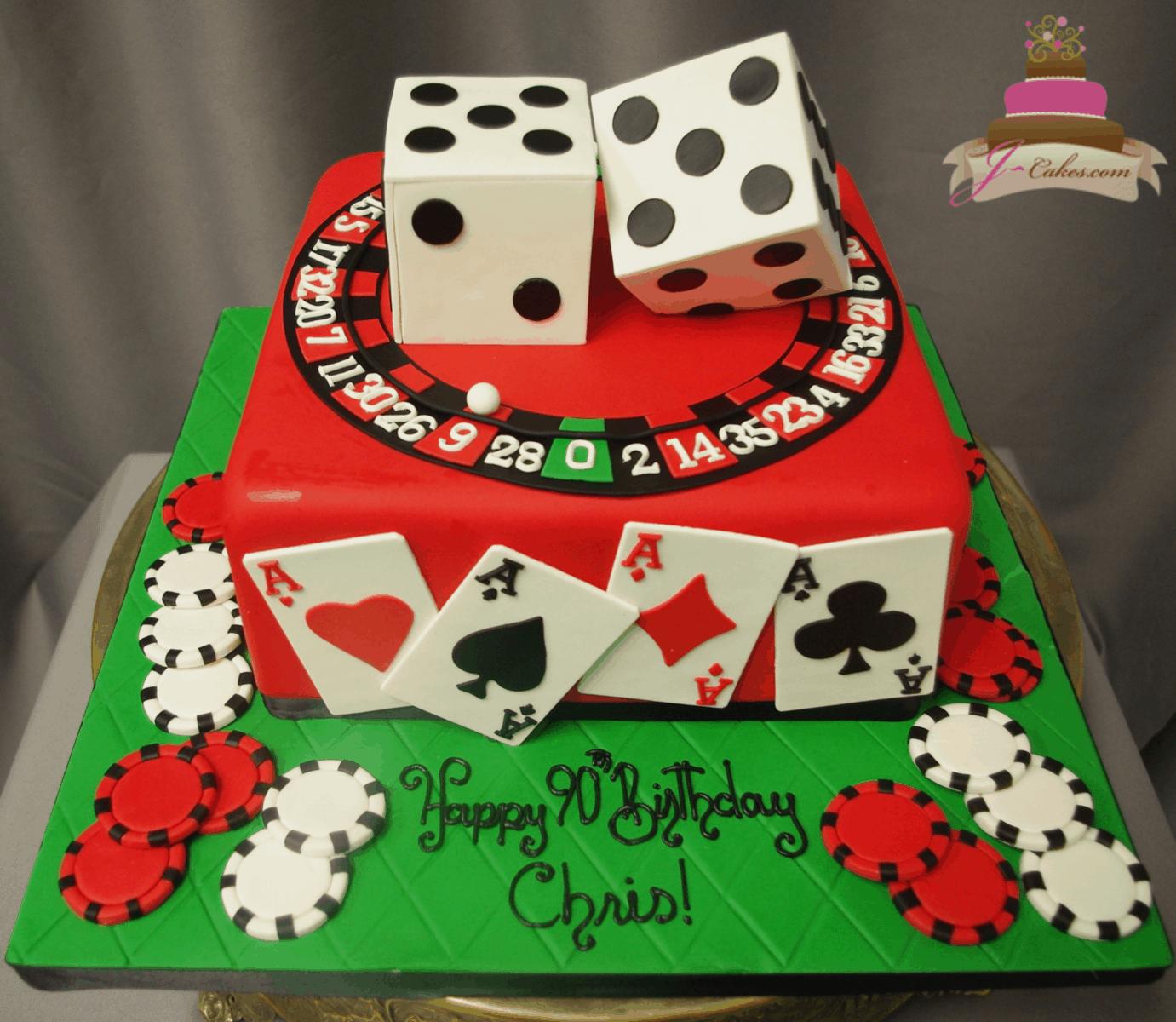 (188) 3D Dice Cake