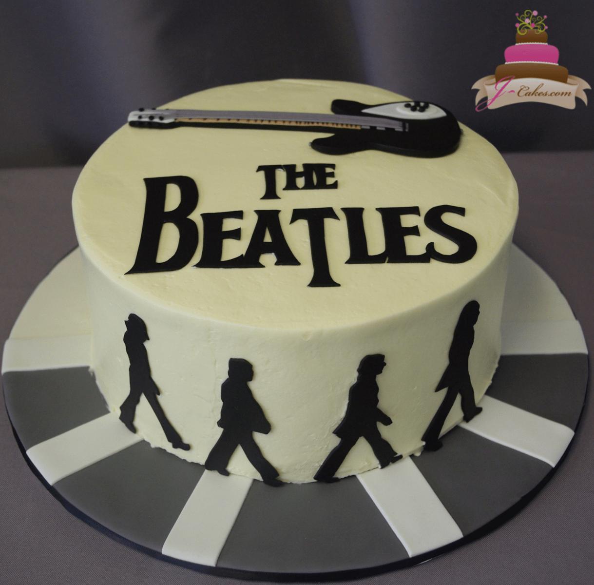 (189) Beatles Cake