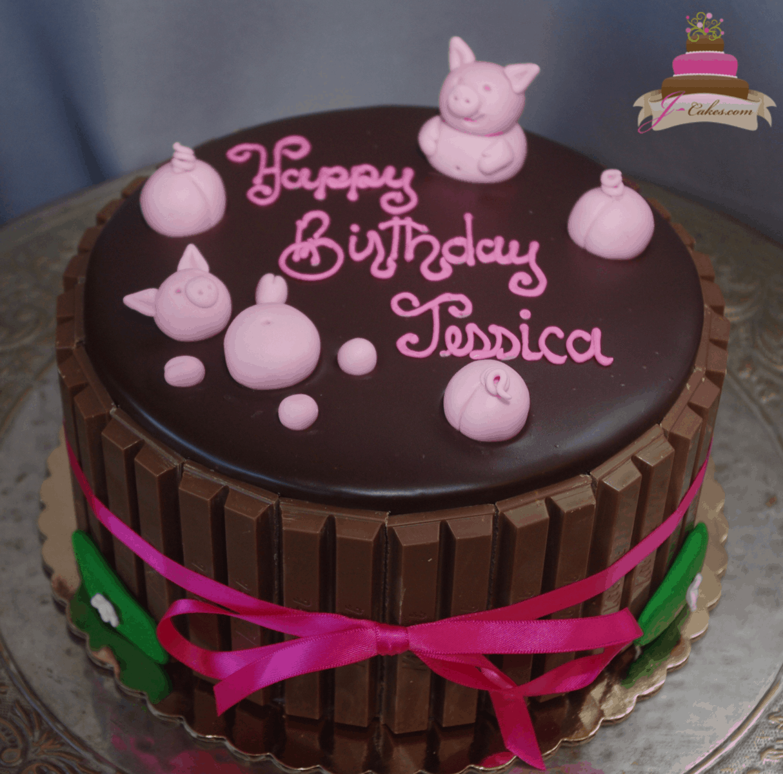 (195) Pigs in Mud Cake