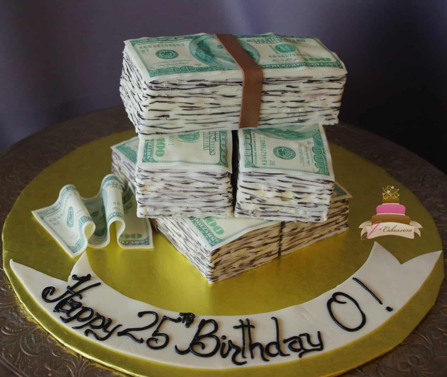 JCakes - Money birthday cake images