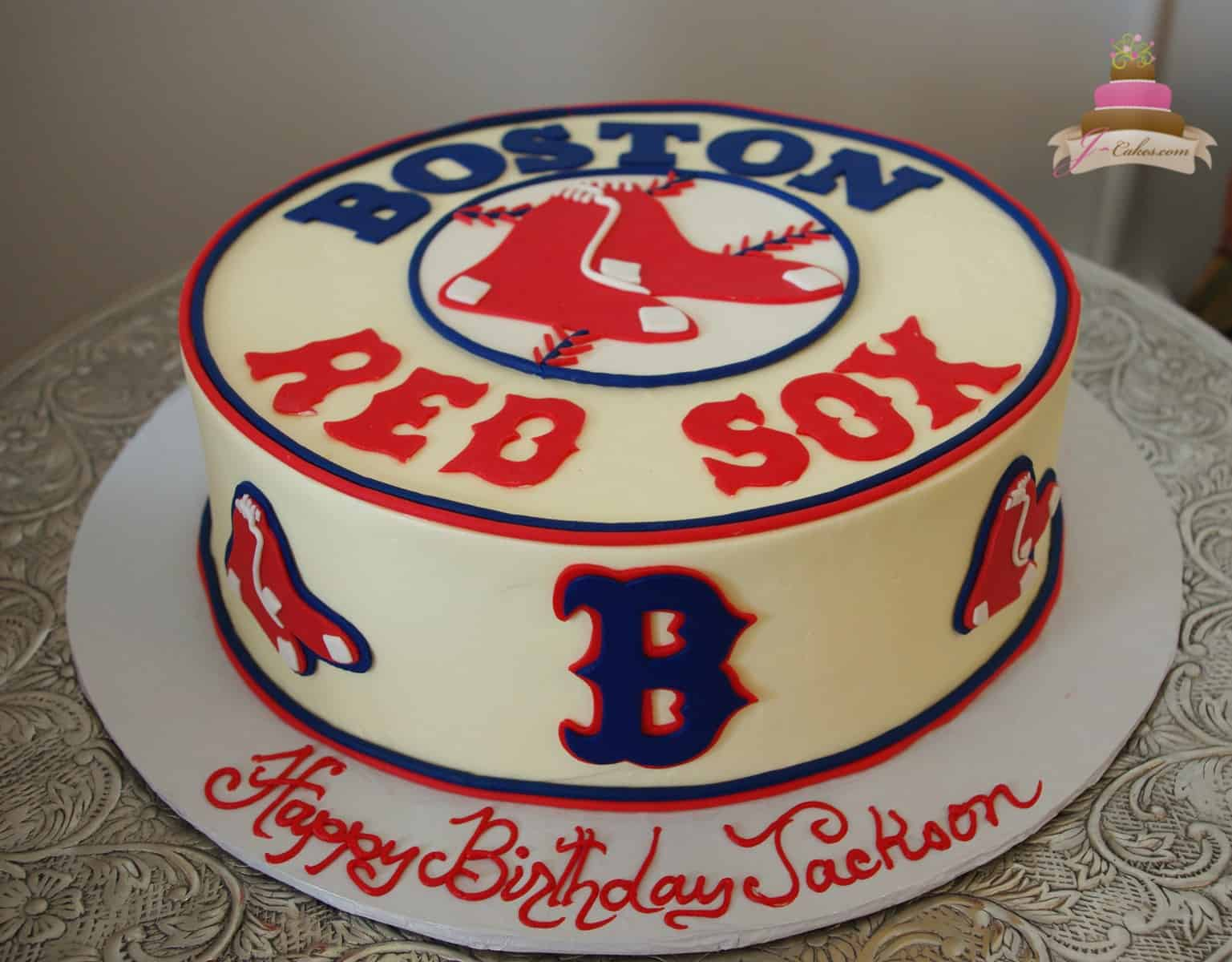 Red Sox Cake Images : Birthdays - JCakes