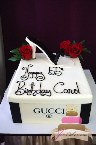 (148) Shoebox Birthday Cake