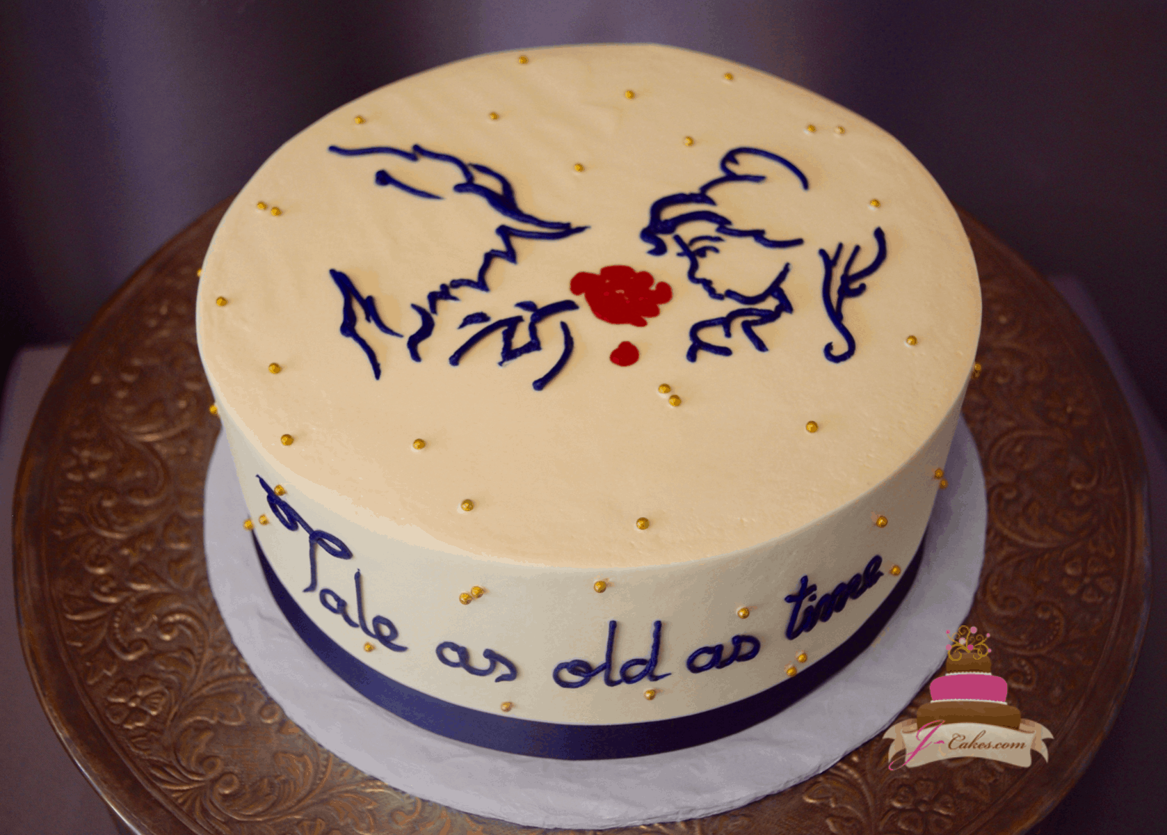 (320) Beauty and the Beast Cake