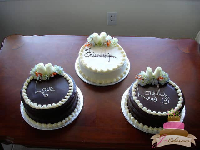 (303) Standard Design Bridal Shower Cakes
