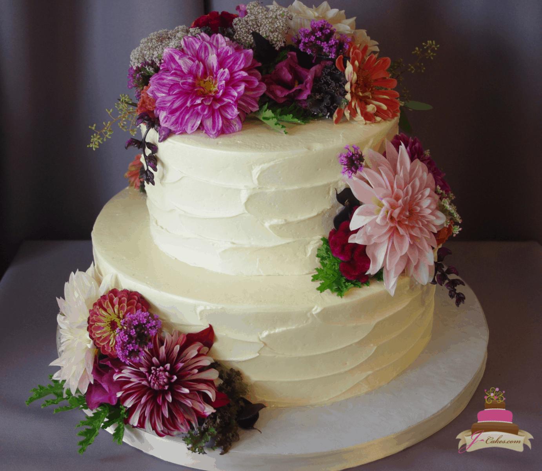(322) Textured Buttercream Cake