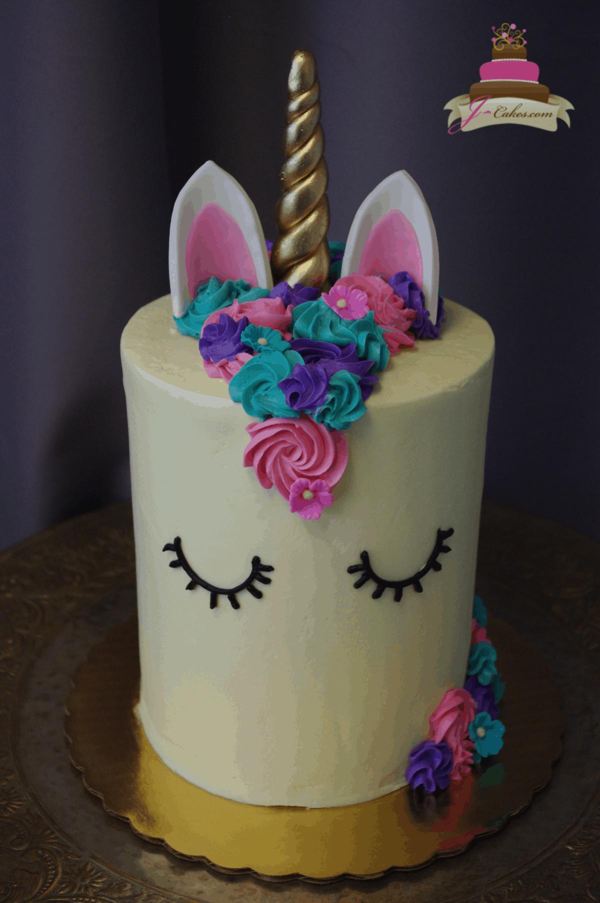 (530) Unicorn Cake