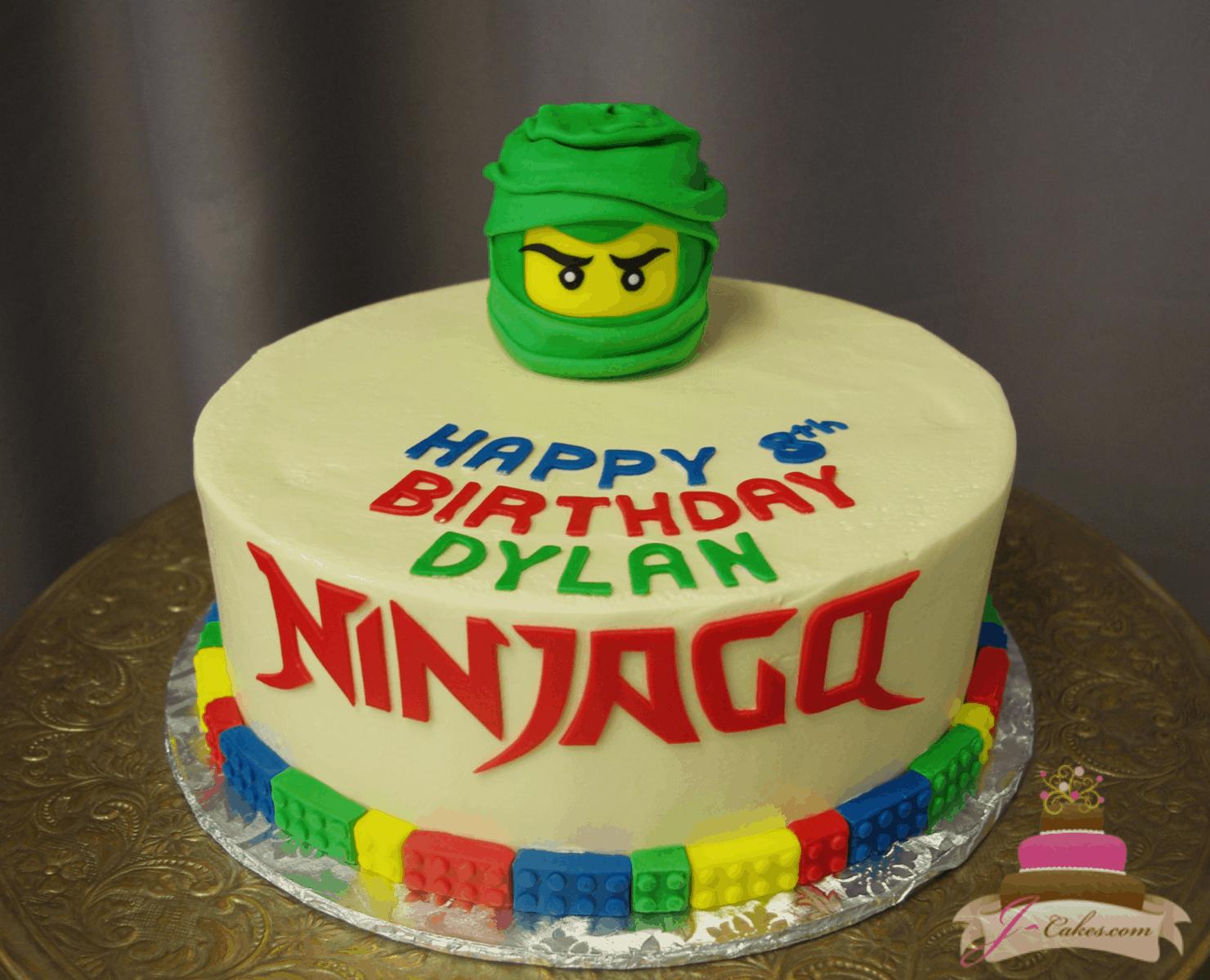 (540) LEGO Ninjago Cake