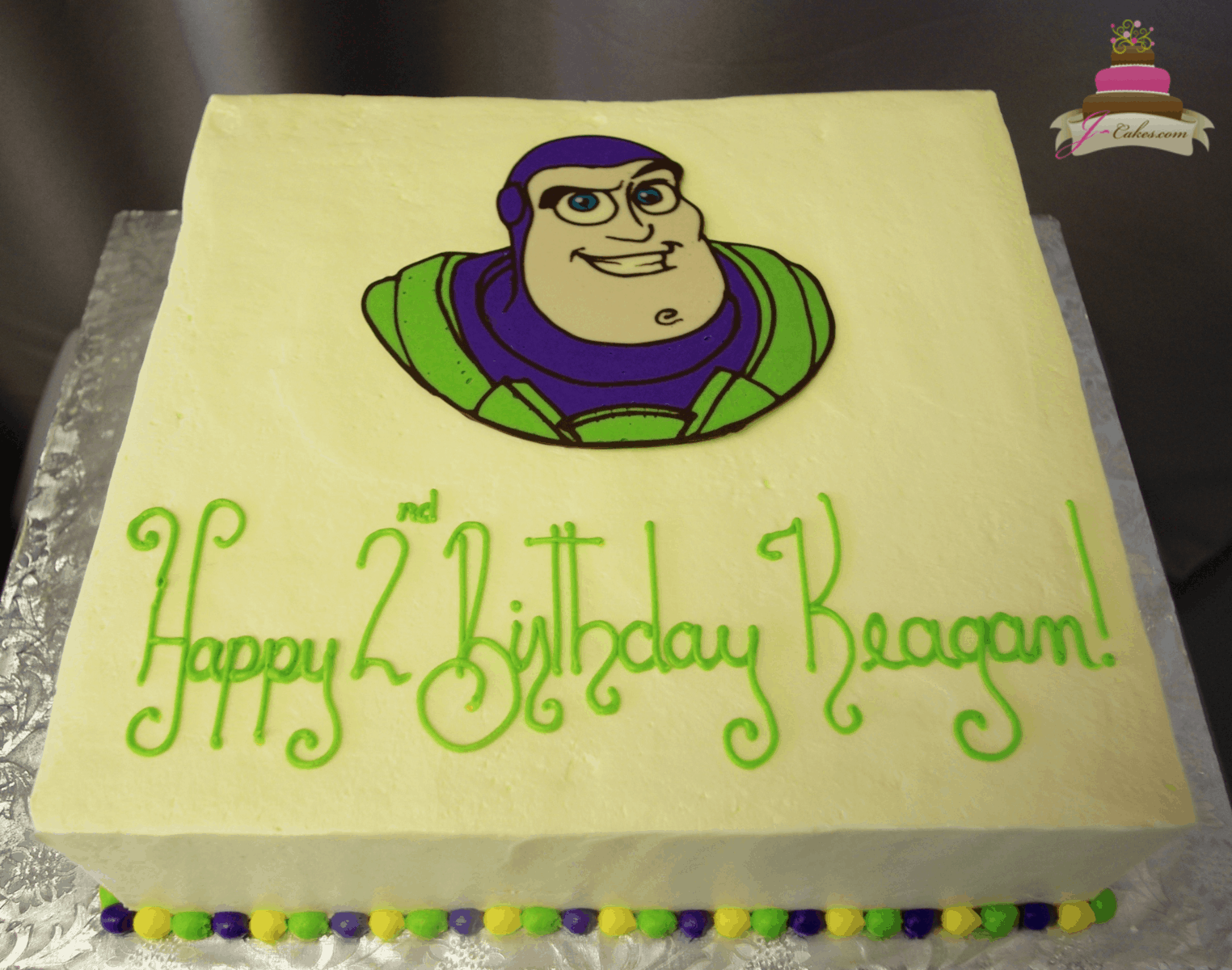 (541) Buzz Lightyear Sheet Cake