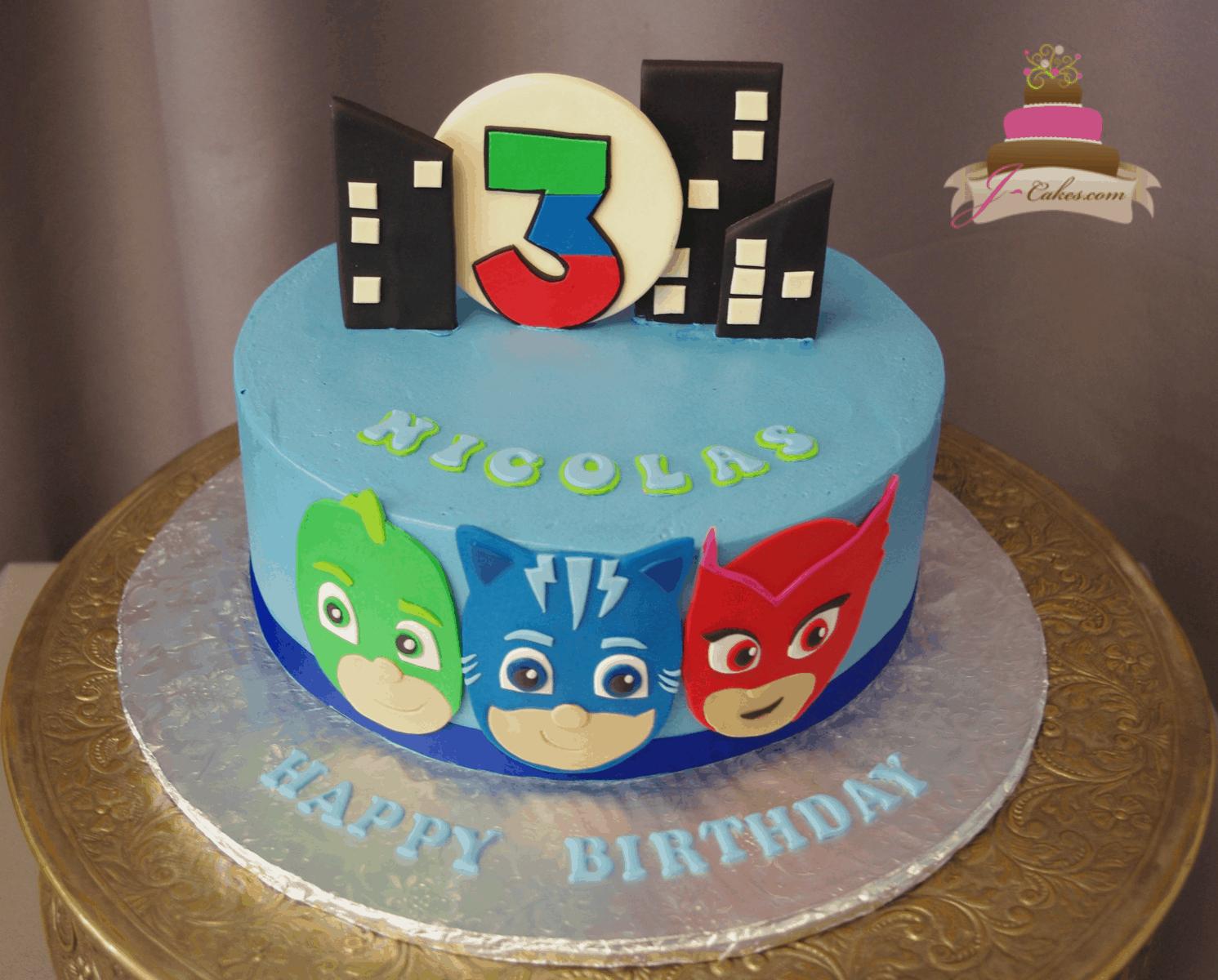 (542) PJ Masks Cake