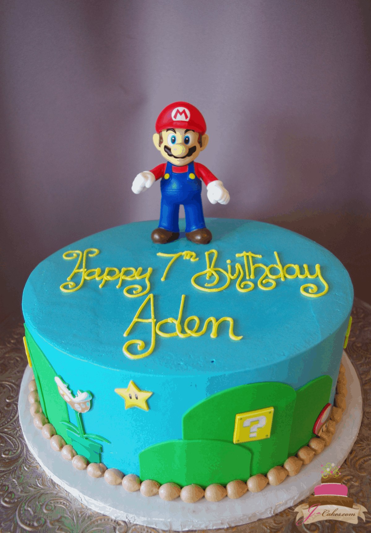 (546) Simple Mario Cake