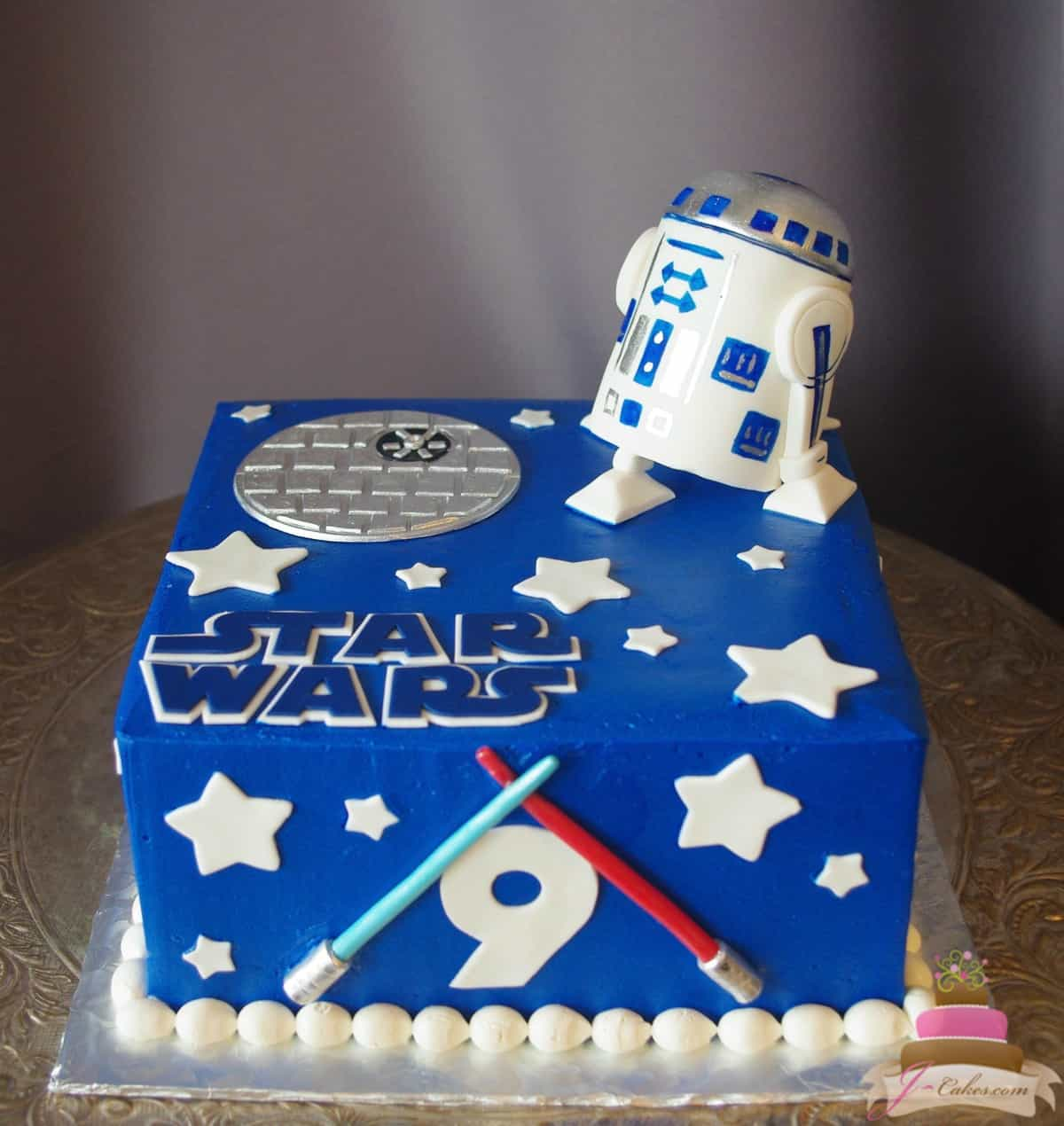(511) Star Wars Theme Cake