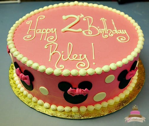 (479) Minnie Mouse Cake