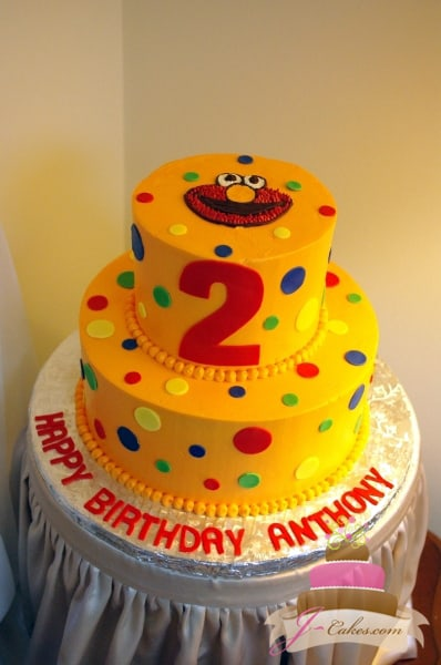(419) Elmo Birthday Cake