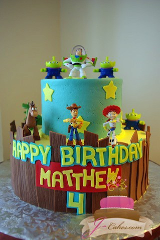 (421) Toy Story Birthday Cake