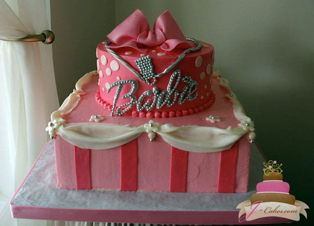 (434) Barbie Birthday Cake