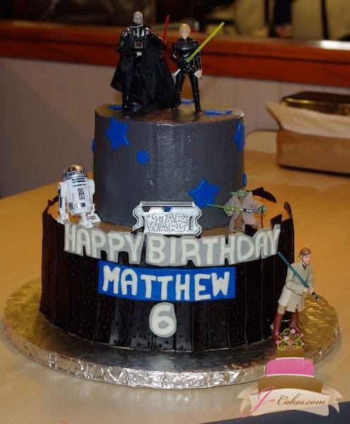 (441) Star Wars Birthday Cake