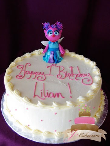 (442) Abby Cadabby Birthday cake