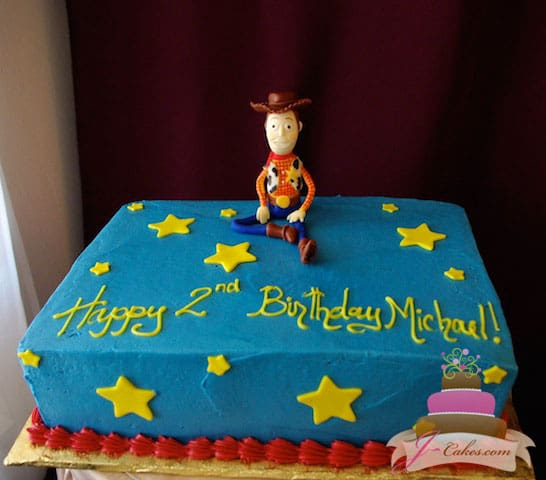 (453) Toy Story Birthday Sheet Cake