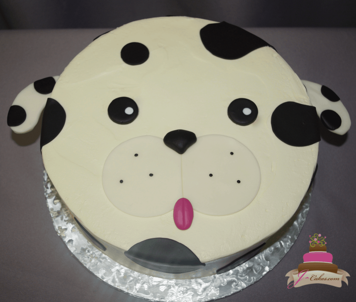 (534) Puppy Face Cake