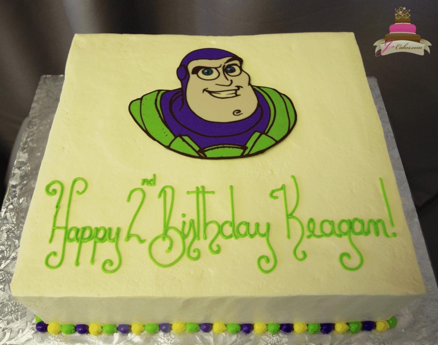 (541) Buzz Lightyear Sheet Cake
