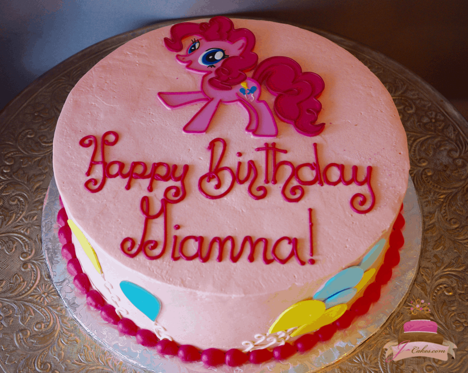 545 My Little Pony Cake