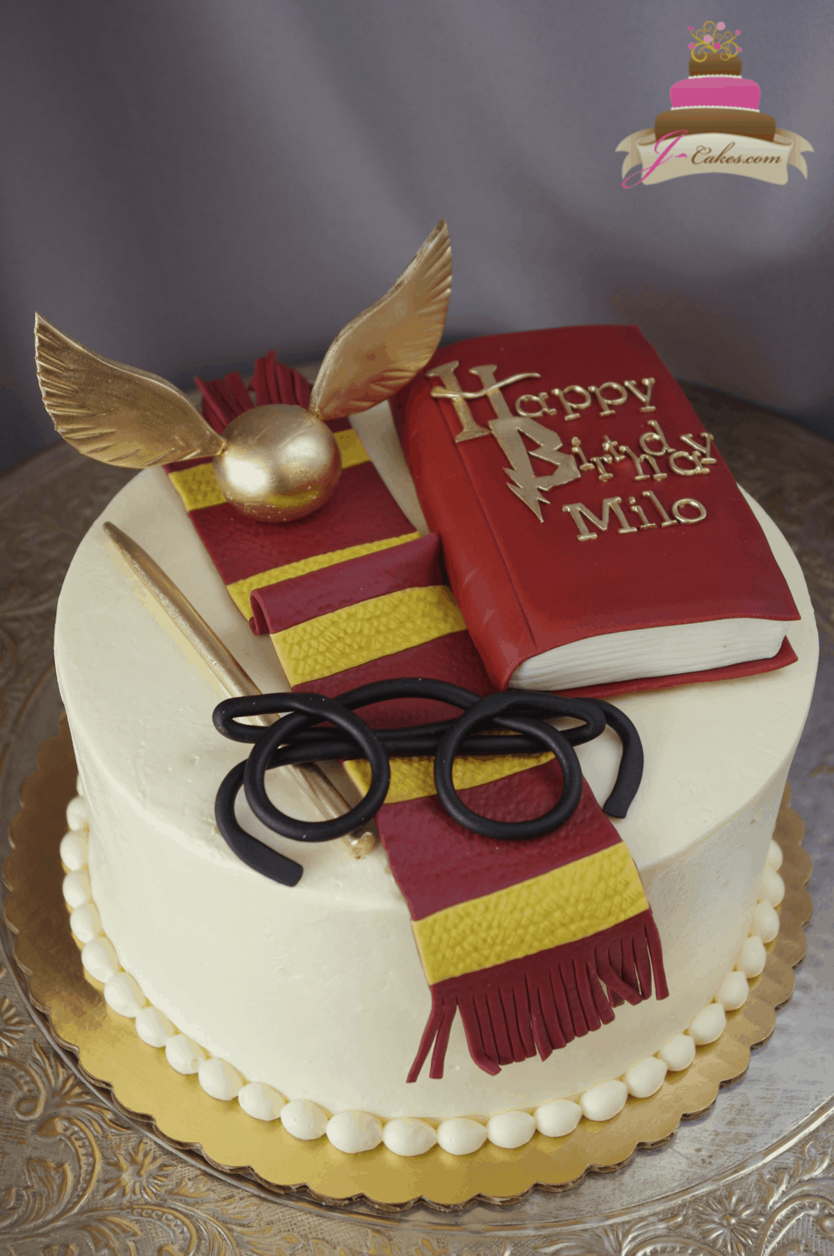 549 Harry Potter Book Cake