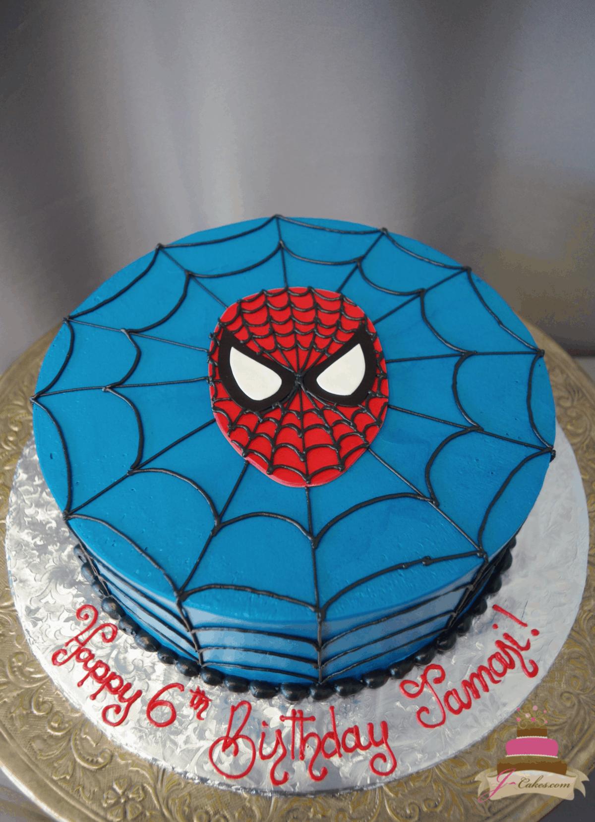 (569) Spider-Man Cake