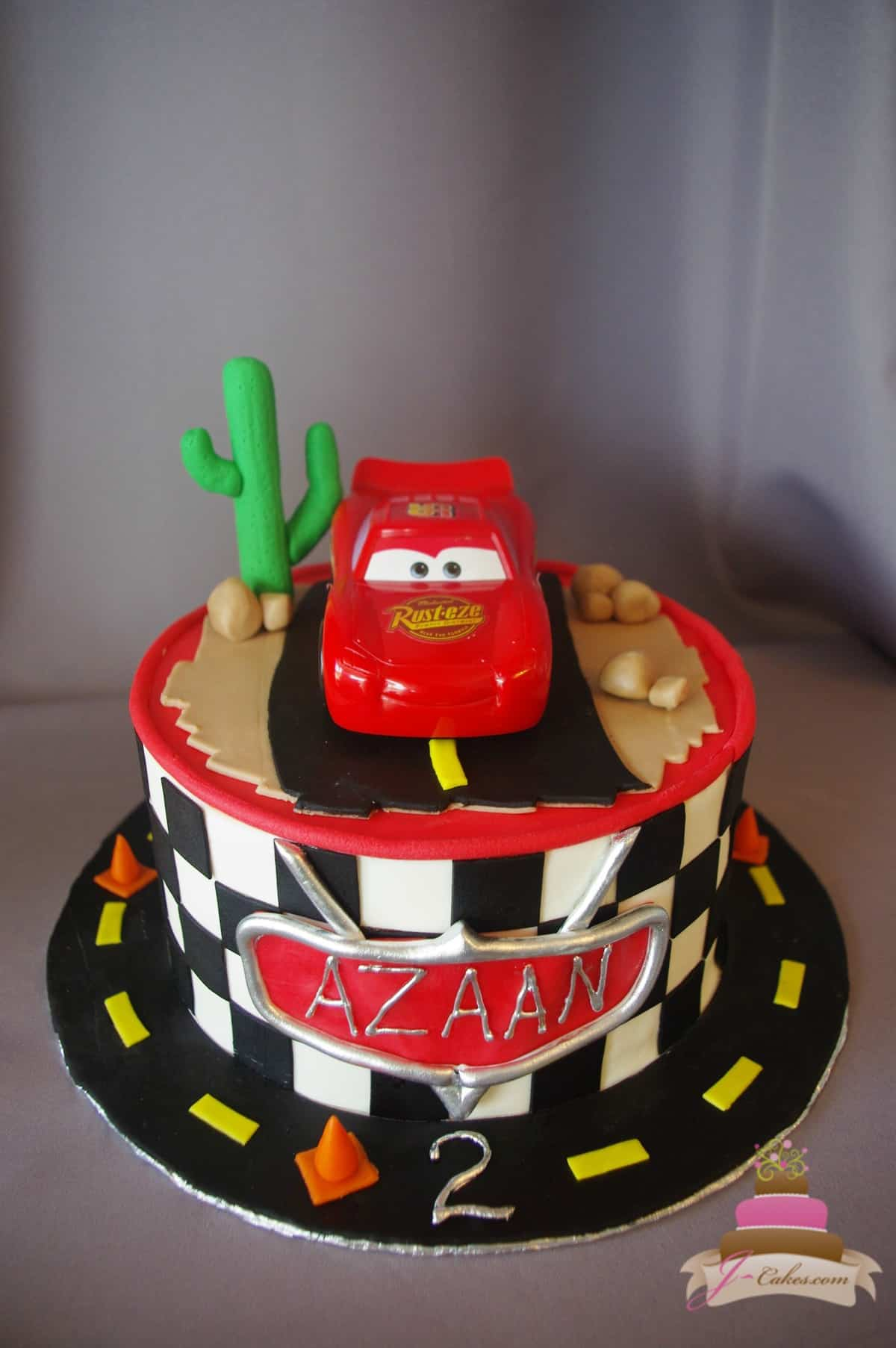(506) Cars Theme Cake