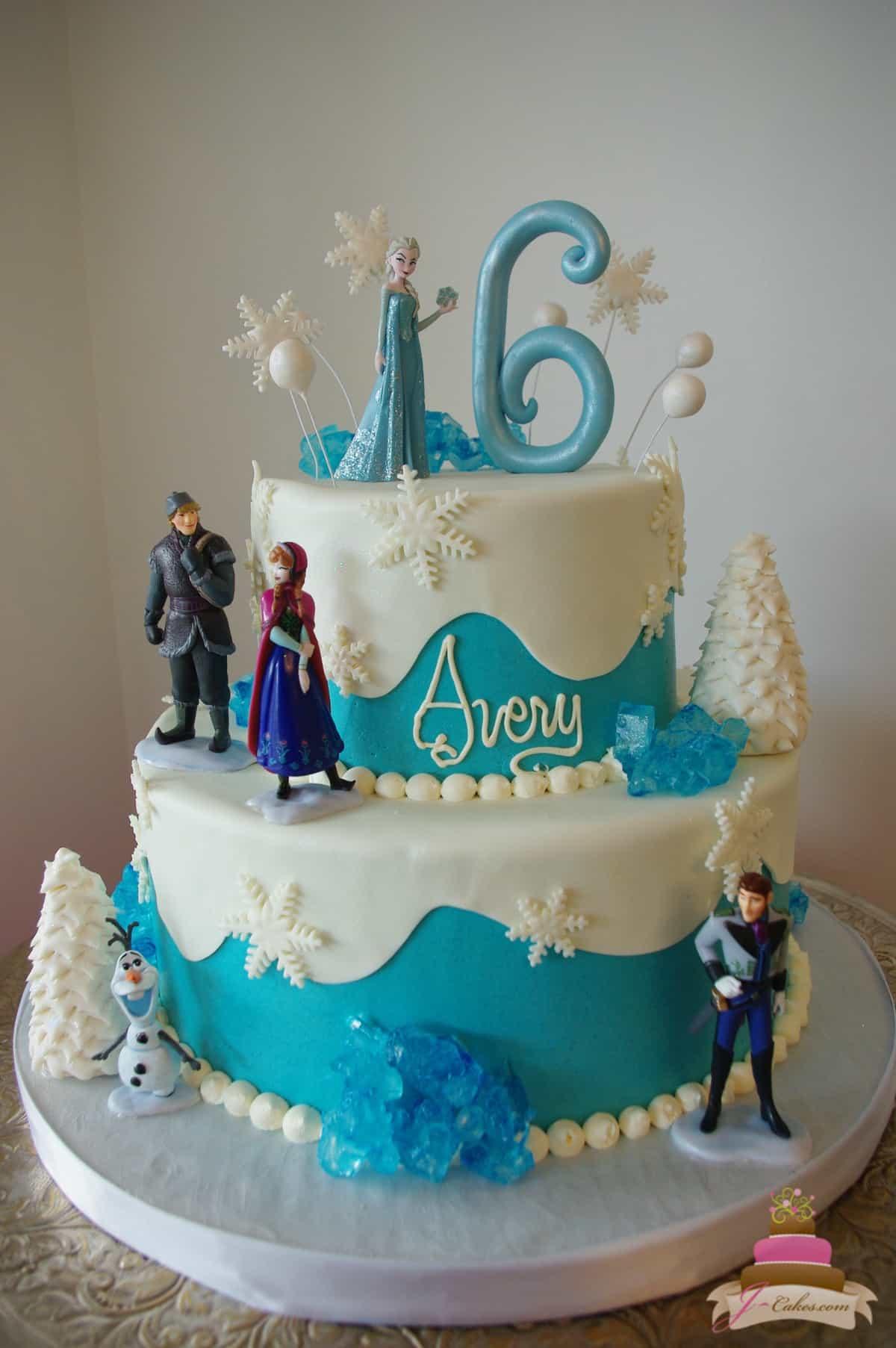 (478) Frozen Rock Candy Cake