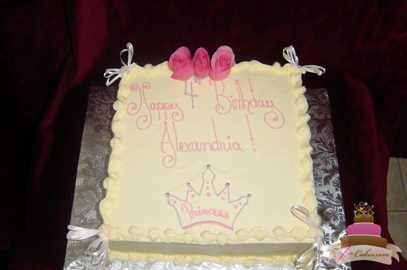 (403) Standard Design Princess Cake