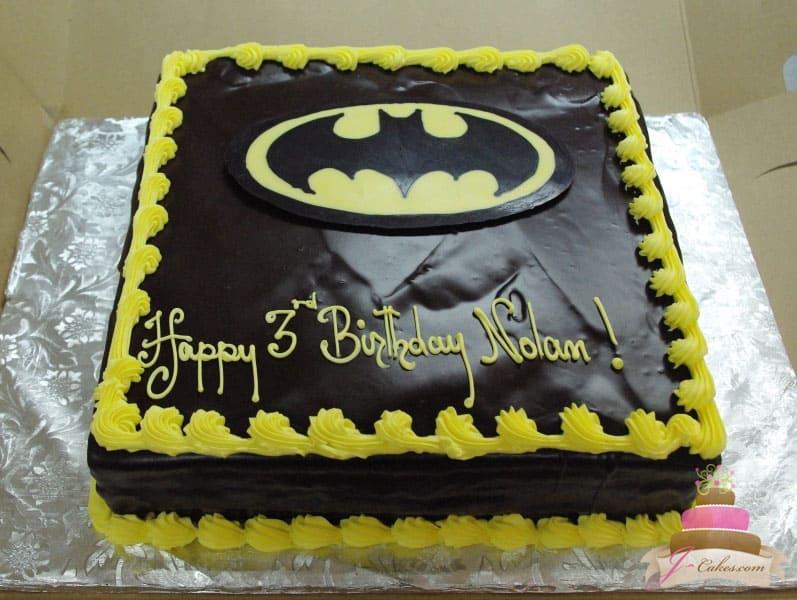 (411) Batman Birthday Cake