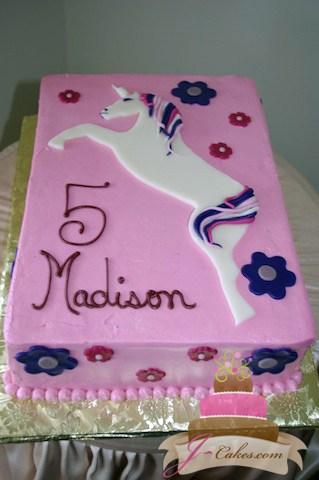 432 Unicorn Birthday Cake