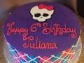 (518) Monster High Theme Cake