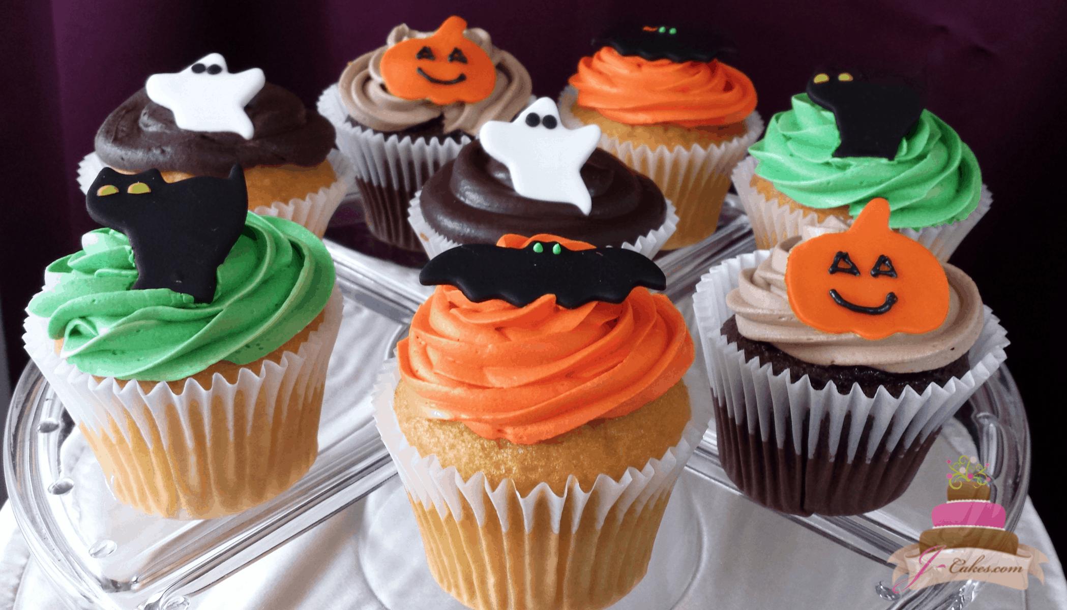 (646) Halloween Cupcakes
